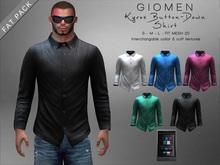 G I O M E N - Kyros Button-Down Shirt [FAT PACK]