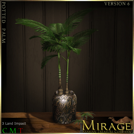 =Mirage= Potted Palm - Version 6