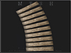 T-3D Creations [ PATHWAY CURVED - 10 Woods 001 ] Regular MESH - Full Perm -
