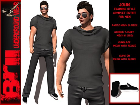 **JONH GREY VERSION TRAINING STYLE COMPLET OUTFIT **