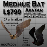 Medhue Bat Avatar