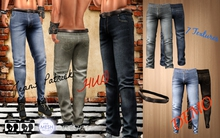 Jeans Patrick HUD TMP (For Boots and Normal)_DEMO