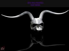 ! [NW] Skull Headpiece white