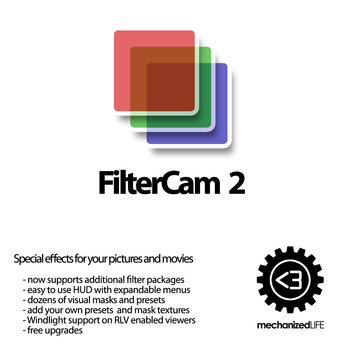FilterCam 2 HUD