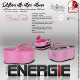 ..::Energie::.. Platform Flip Flops  Flower Baby Pink Bag