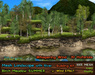 21strom: Birch Meadow SUMMER Mesh Landscape with River, Cliffs, Wind Effect, Animated Water