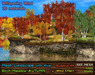 21strom: Birch Meadow AUTUMN Mesh Landscape with River, Cliffs, Wind Effect, Animated Water
