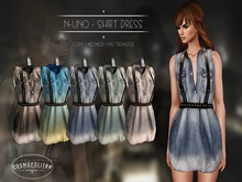 N-Uno - Shirt Dress - Denim DEMO
