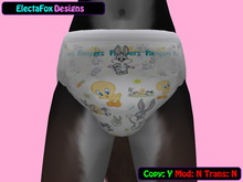Baby Toons (Full Print) Texture Applier for Tushiez v3.0