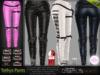 Tethys Strapped Pants - Maitreya Lara, Slink Physique, Belleza Isis Freya, TMP, Banned Dea - DreamLife FashionNatic