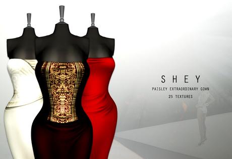 SHEY - Paisley Extraordinary Gown