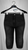 Admirable. HighWaist Jeans (Black)