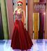 M&M-VARIETY DRESS MESH RED FLORES
