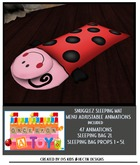 [OUAT] Snugglez upated sleeping bag ladybug