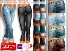 LARRY JEANS - Jeans 303 - 12 Color Pack