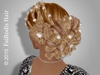 Fairodis dahlia hair wihtout bangs shaten blonde ombre poster