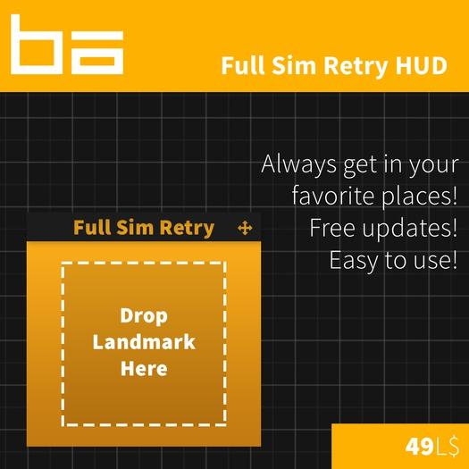 Full Sim Retry HUD - GET INTO FULL SIMS EASY