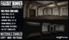Win Factory Fallout Bunker- Basic Set 1