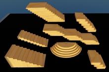 7 full perm 1 prim sculptured stairs