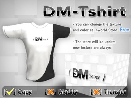 DM-Tshirt                   [DM-Script]