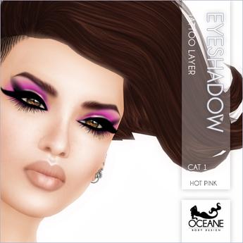 PROMO!! Oceane: Cat Eyeshadow Electric Pink!