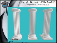 Icaland - Decorative Pillar Model 3