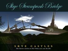 Skye Steampunk Castle Draw Bridge