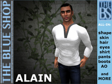 ALAIN Complete TOP avatar NEW!