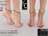 .:KC:. DIANA Feet Jewels - Slink, Maitreya, Belleza HIGH / MEDIUM