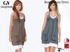 Full Perm Rigged Mesh Beach Jersey Dress For Slink and Maitreya Mesh Body.