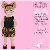 {C*K} Le Purr Outfit Toddleedoo Baby & Kid