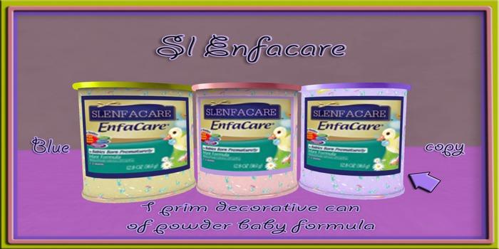 Sl Enfamil  decorative Powder baby formula ( blue )