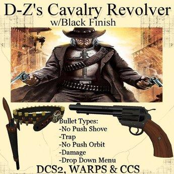 D-Z Cavalry Revolver-(Boxed) - Western Guns , DCS2 , WARPS , CCS