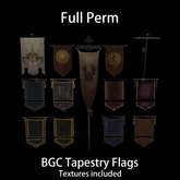 BGC Tapestry Flags [Boxed]