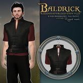 {KD} Kahli Designs - Baldrick - Red