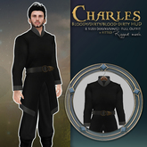 {KD} Kahli Designs - Charles - Black