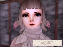 milk teeth. Cherry Doll- PROMO (M3 Venus skin mod- eyebrows and eyelashes included)