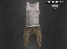 *BOND7* Braga Outfit (White: HUD)-Aesthetic