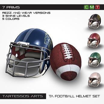 ::TA Football Helmet Set - Copy