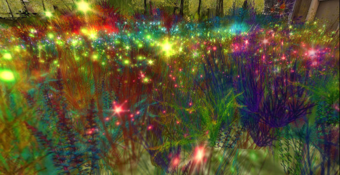 *Shabby* Fairy Lights Fields