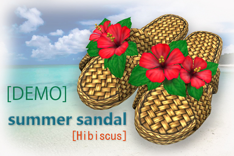 [DEMO]summer sandal [Hibiscus]