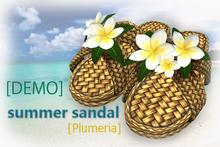 [DENO]summer sandal [Plumeria]