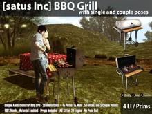 [satus Inc] BBQ Grill