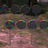 rainbow lollie animated