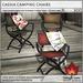 Trompe Loeil - Cassia Camping Chairs [mesh]