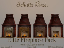 1920's Elite Fireplace Pack