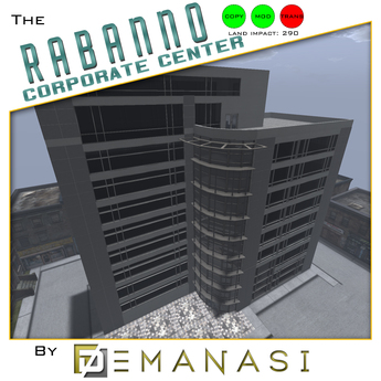 The Rabanno Corporate Center by Demanasi - 100% Mesh