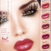 Outlet Oceane - Amber lipsticks Skinny Pack 1 [System 10 layers]