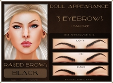 .:DA:. Eyebrow Raised Black