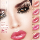 Outlet Oceane - Amber lipsticks Skinny Pack 2 [System 10 layers]